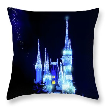 Throw Pillow featuring the photograph Fairy Dust by Mark Andrew Thomas