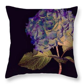 Fairy Hydrangea Throw Pillow