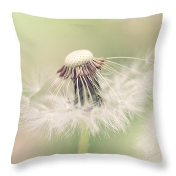 Fairy Parasol Throw Pillow