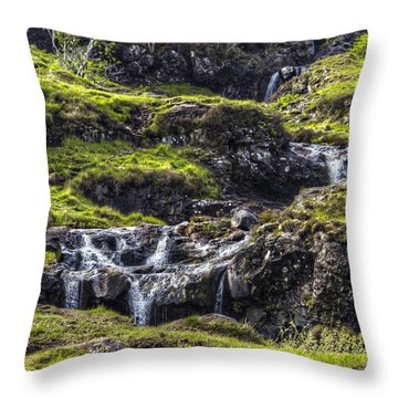 Fairy Pools #1 Throw Pillow