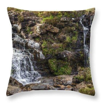 Fairy Pools #2 Throw Pillow