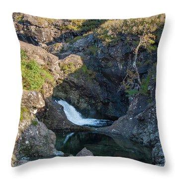 Fairy Pools Throw Pillow