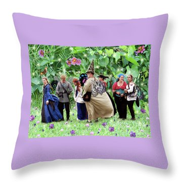 Fairy Queue Throw Pillow