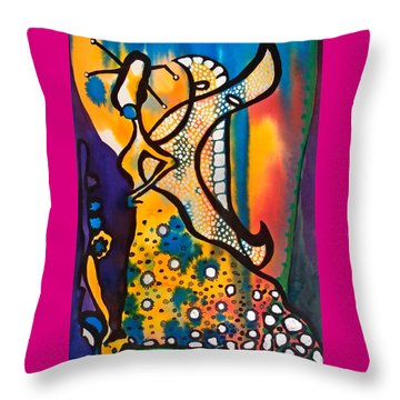 Fairy Queen - Art By Dora Hathazi Mendes Throw Pillow