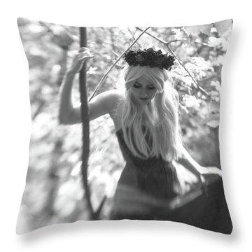 Fairy Queen Throw Pillow