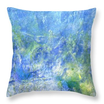Fairy Ring Beneath The Surface Throw Pillow
