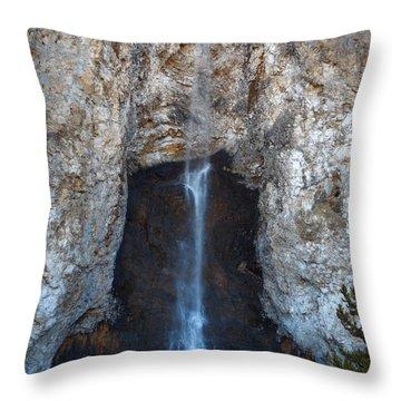 Fairy Tale Falls Throw Pillow