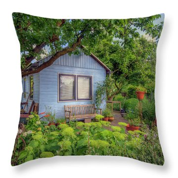 Fairy Tale Land Throw Pillow