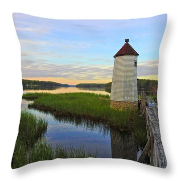 Fairy Tale On The River Throw Pillow