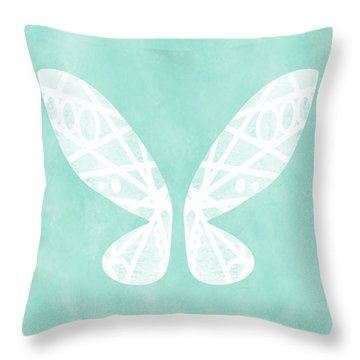 Fairy Wings- Art By Linda Woods Throw Pillow