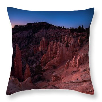 Fairyland Canyon Throw Pillow