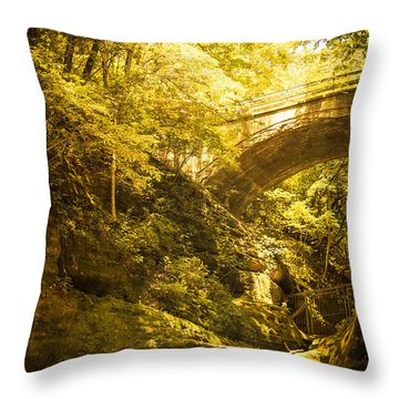 Fairyland In Matthiessen Throw Pillow