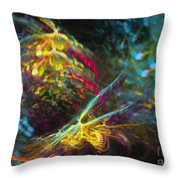Fairy's Rhapsody Throw Pillow