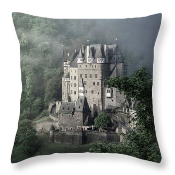 Fairytale Castle In Germany Throw Pillow