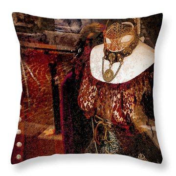 Paris, France - Fait Main En France Throw Pillow