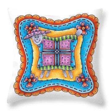 Faith  Throw Pillow by Tracy Campbell