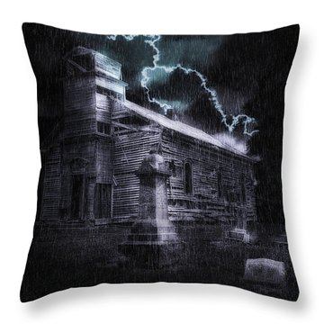 Faith And Fury Throw Pillow