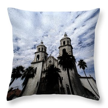 Faith Arizona Throw Pillow