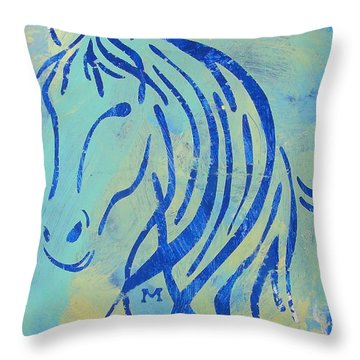 Throw Pillow featuring the painting Faith by Candace Shrope