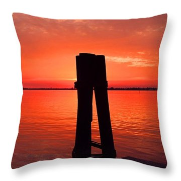 Throw Pillow featuring the photograph Faith Reunites Us by Michiale Schneider