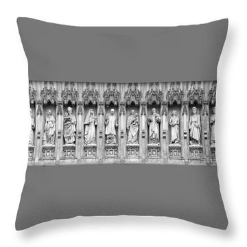 Throw Pillow featuring the photograph Faithful Witnesses - 2 by Stephen Stookey