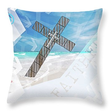 Faithfully Throw Pillow