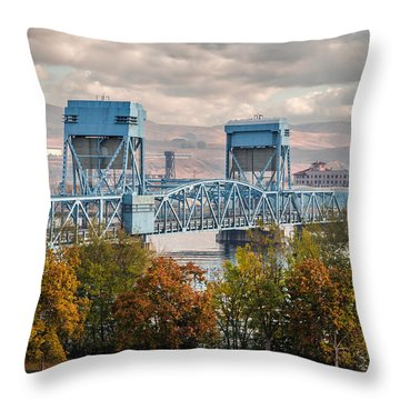 Fall 2015 Blue Bridge Throw Pillow