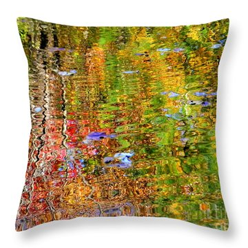 Fall 2016 Throw Pillow by Elfriede Fulda