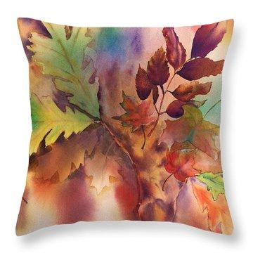 Fall Bouquet Throw Pillow