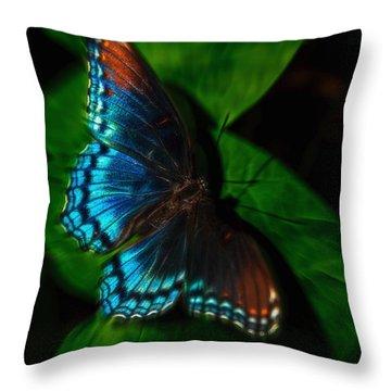 Fall Butterfly Throw Pillow