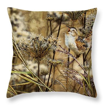 Fall Call Throw Pillow