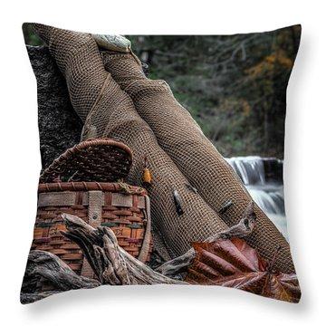 Fall Creation Throw Pillow