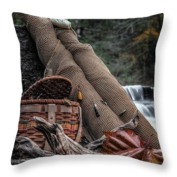 Fall Creation Throw Pillow