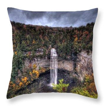 Fall Creek Falls Throw Pillow