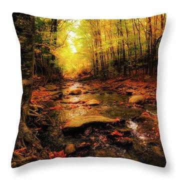 Fall Dreams Throw Pillow