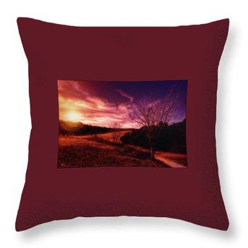 Fall Equinox Throw Pillow