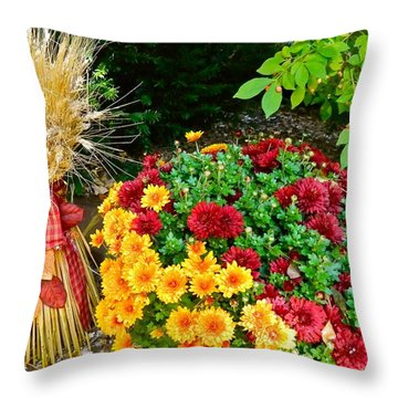 Fall Fantasy Throw Pillow