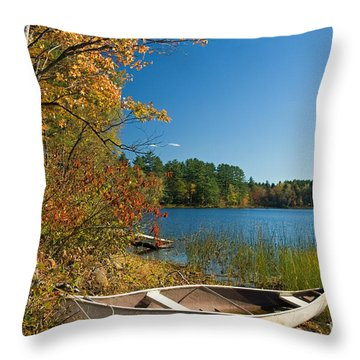 Throw Pillow featuring the photograph Fall Fun by Alana Ranney
