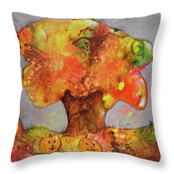 Fall Fun Throw Pillow