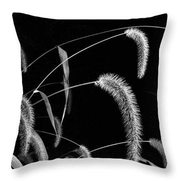 Fall Grass 3 Throw Pillow