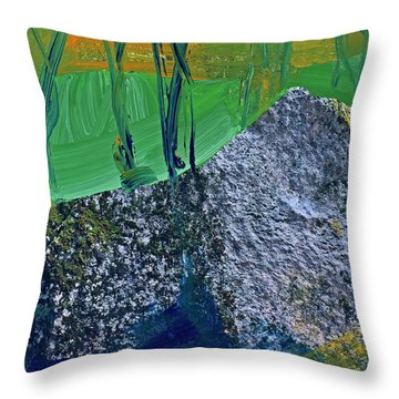 Fall Hiking Trail No 2 Throw Pillow
