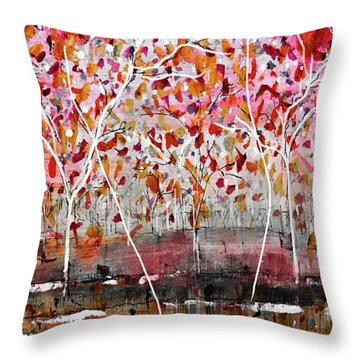 Fall-iage V2.0 Throw Pillow