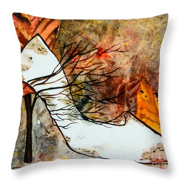 Fall In Art Throw Pillow