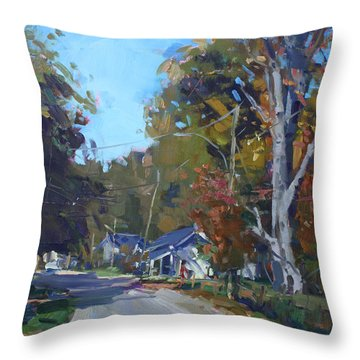 Fall In Glen Williams On Throw Pillow
