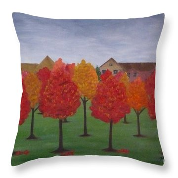 Fall In Markham Throw Pillow