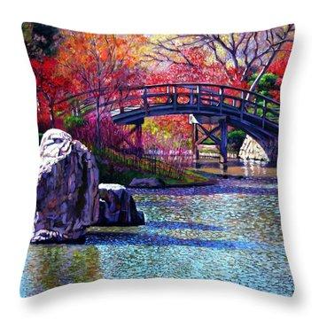 Fall In The Garden Throw Pillow