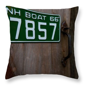 Fall In The Lakes Region Throw Pillow