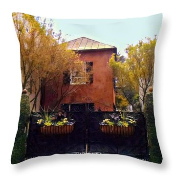 Fall Into Charleston Throw Pillow