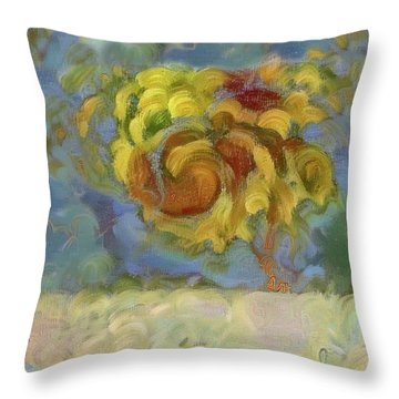 Fall Is In The Air Throw Pillow