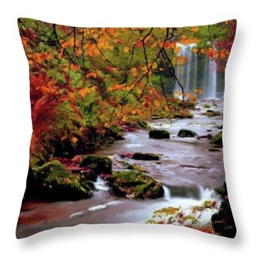Fall It's Here Throw Pillow